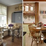 Как выделить и организовать стильную и уютную обеденную зону на кухне — описание лучших идей с фото - Обзор