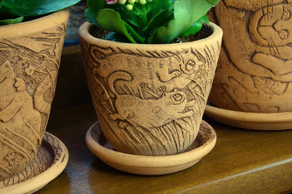 красивые керамические горшки