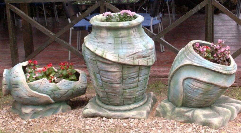 горшок для цветов керамический большой