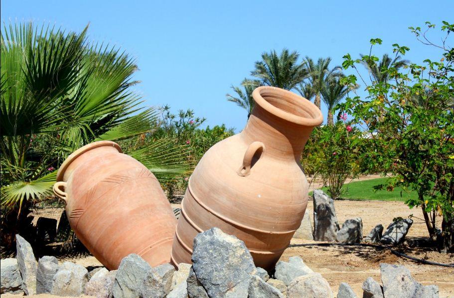 керамические горшки под цветы