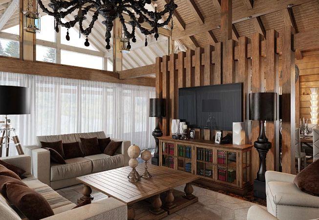 Интерьер загородного дома в современном стиле. 95 фото проекты и стили загородных домов - Обзор