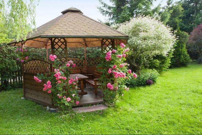 садовые беседки для дачи