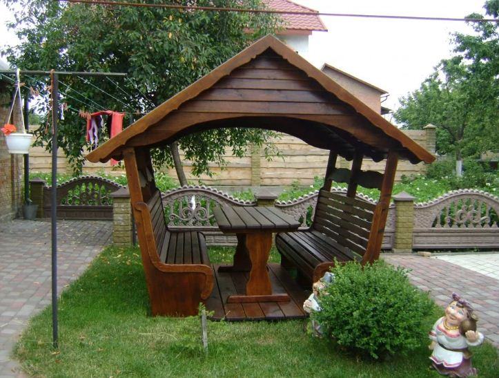 крыши садовых беседок