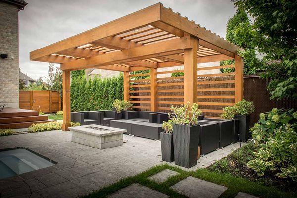 проекты садовых беседок