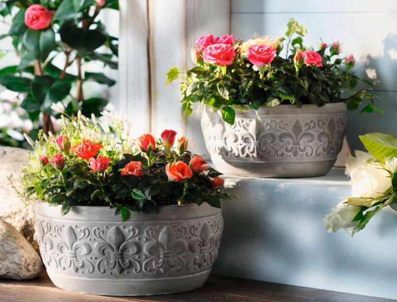 подвесные горшки для цветов на балкон