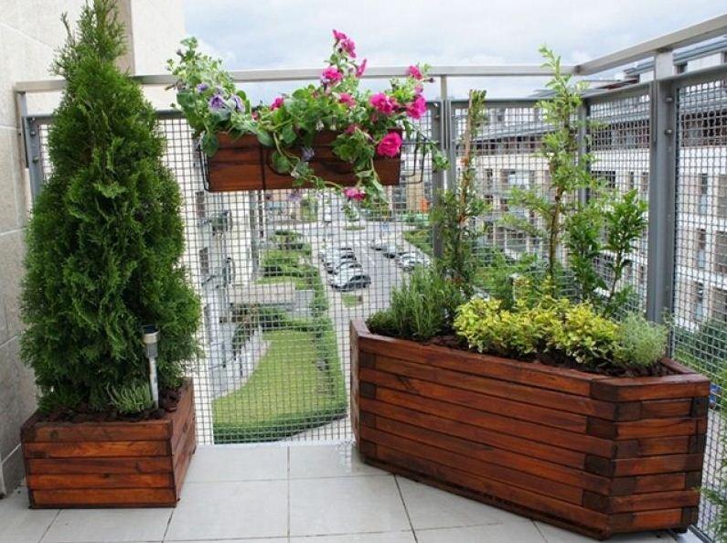 цветочные горшки на балкон
