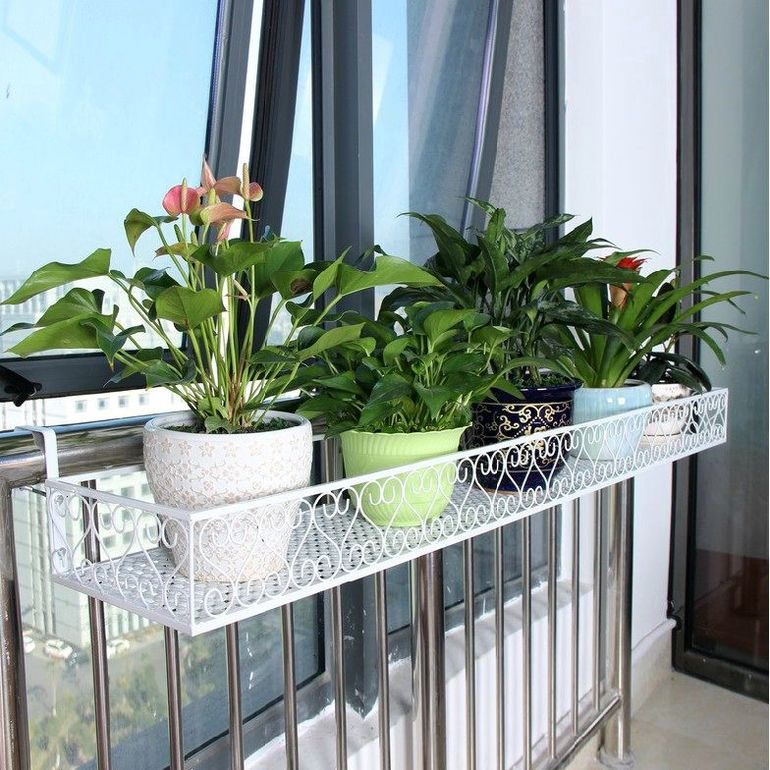 горшки на балкон подвесные