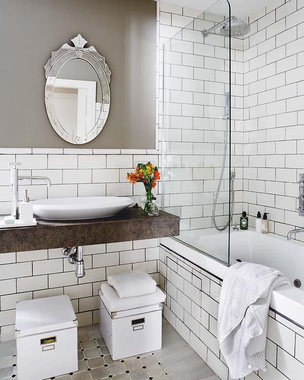 ванная комната в скандинавском стиле реальные фото