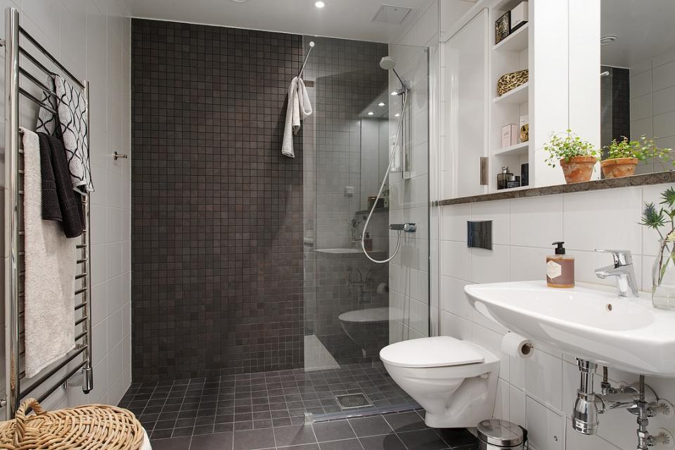 мебель для ванной комнаты скандинавский стиль