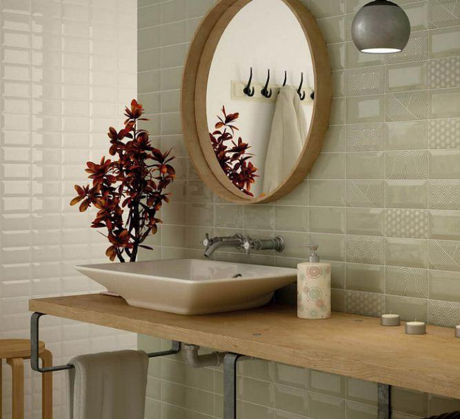 скандинавский ванная комната дизайн