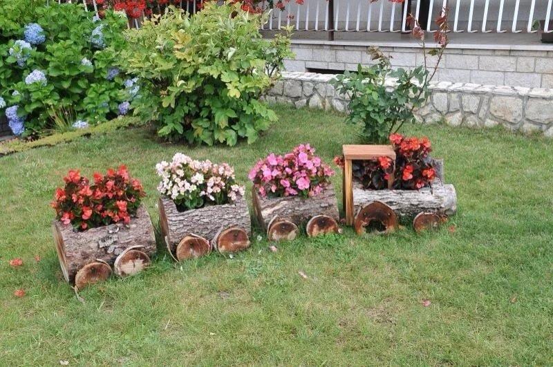 дизайн клумб и цветников