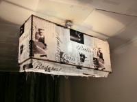 Простой абажур (светильник) из бумаги своими руками инструкция на фото