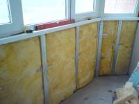 Утепляем балкон и лоджию