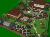 Ландшафтный дизайн загородного дома 6 соток — 55 фото идей