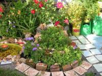 Красивый цветник на даче — 65 фото