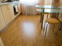Можно ли делать пробковый пол на кухне?