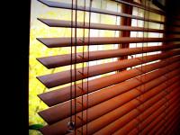 Горизонтальные деревянные жалюзи