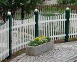Садовые заборы и ограждения — 95 фото. Какие заборы строят на садовом участке