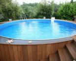 Как сделать бассейн в частном доме или на даче своими руками из подручных материалов (100 фото)