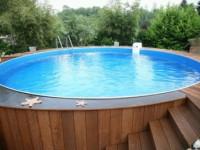 Как сделать бассейн своими руками из подручных материалов (100 фото)