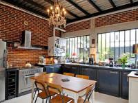 Как выделить и организовать стильную и уютную обеденную зону на кухне — описание лучших идей с фото