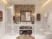 Дизайн ванной комнаты скандинавский стиль. 90 фото ванной в скандинавском стиле