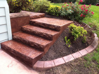 Оформление лестницы в саду. 80 фото красивых лестниц в саду