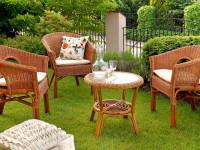 Садовая мебель – функциональность и красота: 100 фото идей