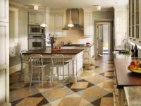 Дизайн пола в кухне 50 фото идей