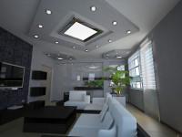 Встраиваемые светильники в интерьере. 40 фото идей