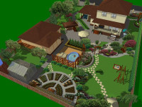 Ландшафтный дизайн загородного дома 6 соток – 55 фото идей