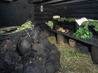 Баня «по-чёрному»