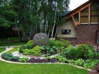 Виды ландшафтного дизайна загородного дома