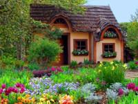 Сельский дизайн сада: особенности оформления