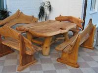Мебель из массива натурального дерева