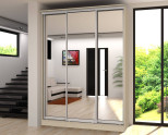 Дизайн прихожей – шкаф купе с зеркалами