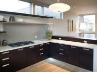 Кухня без верхних шкафов: 45 фото идей дизайна в интерьере