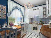 Кухня в стиле Прованс: фото, 6 составляющих и хитрость с цветом