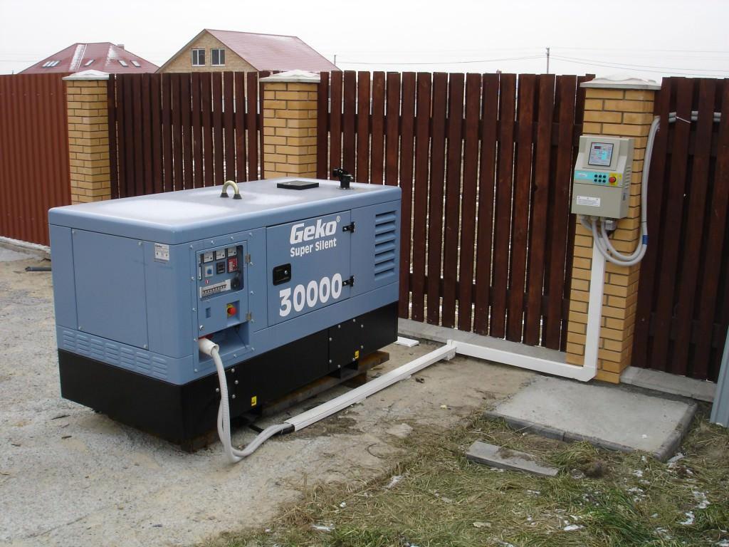 Дизельный генератора1