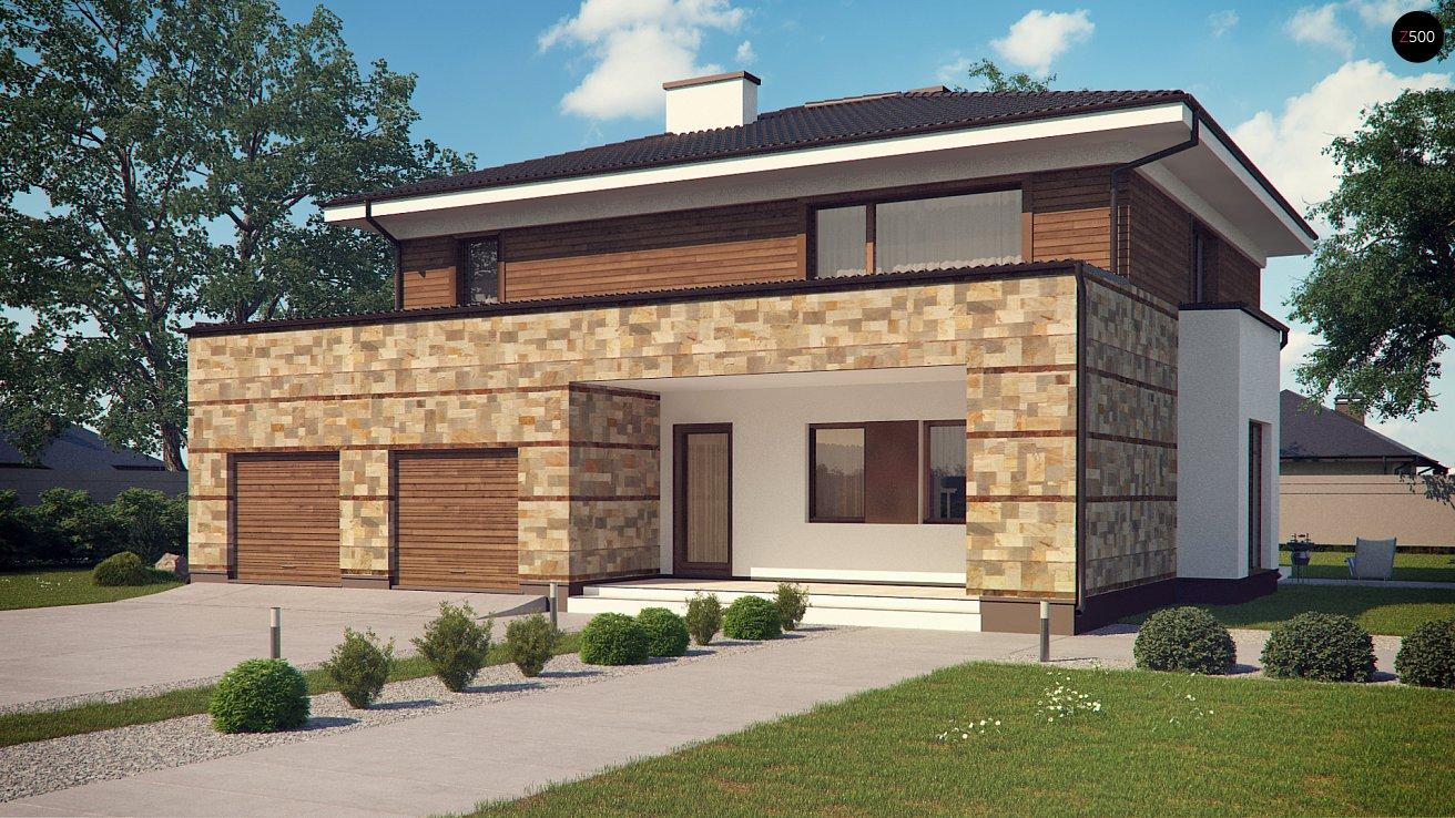 Дом с гаражом 2