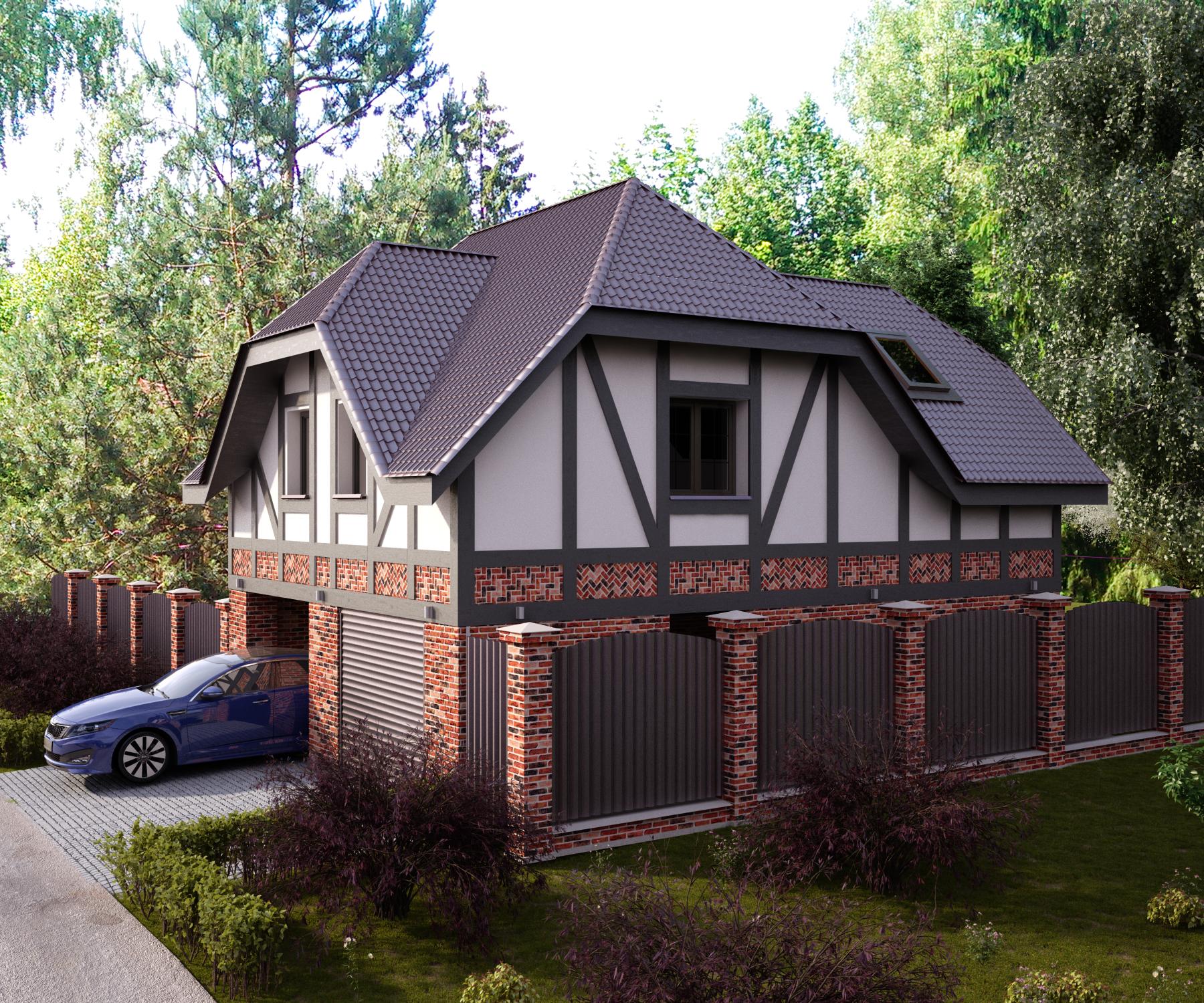 Дом с гаражом 7