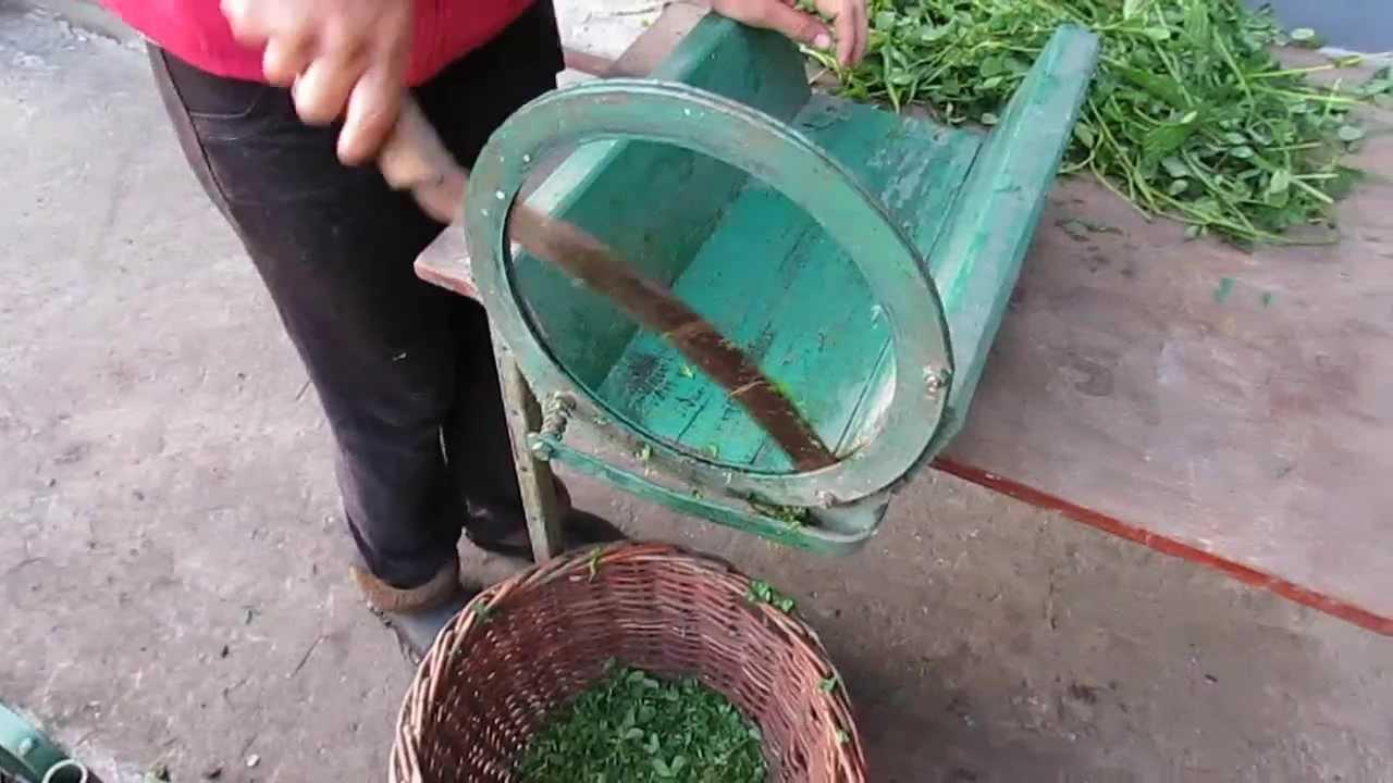 Измельчитель травы2