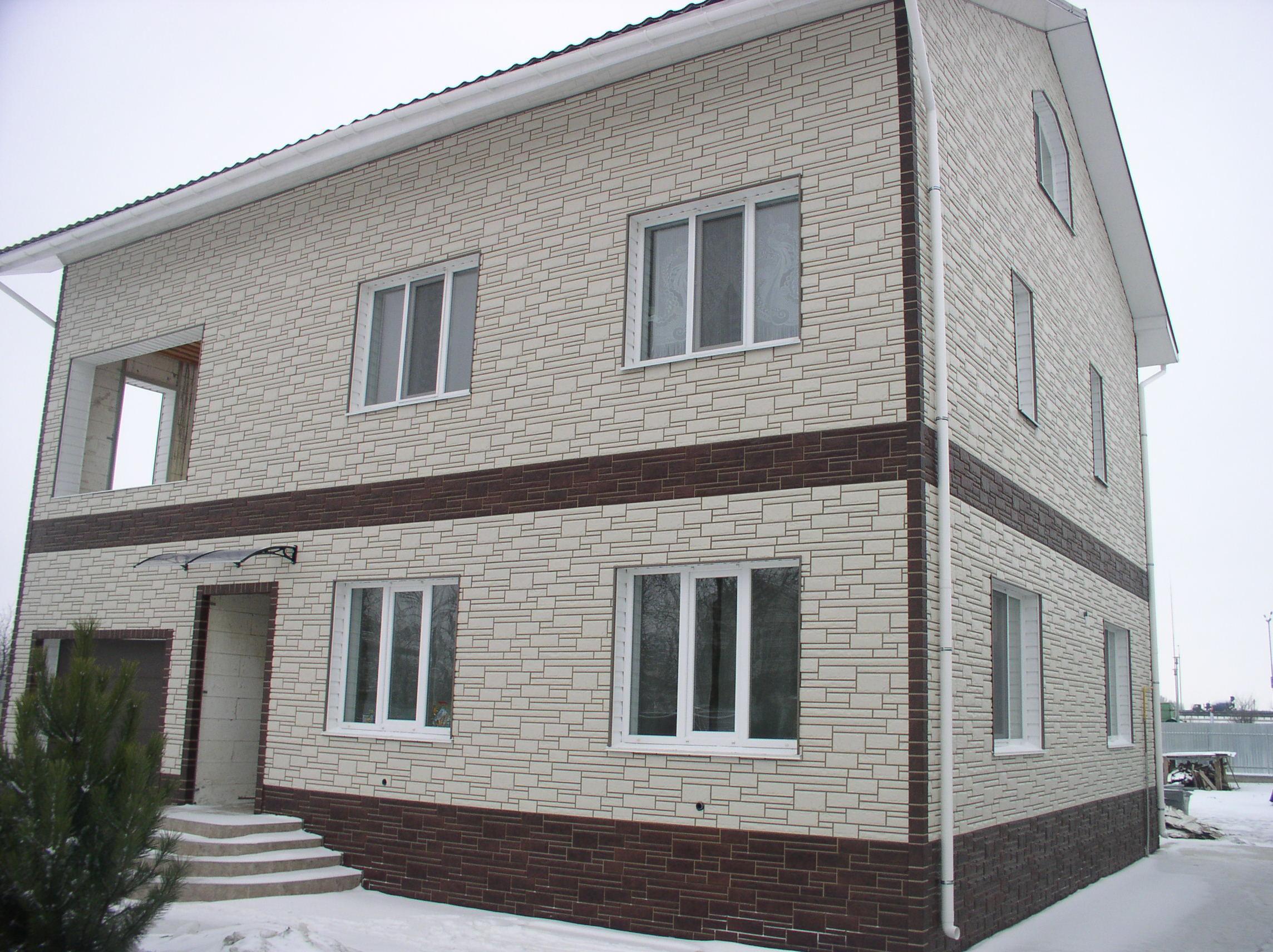 Облицовка фасада сайдингом