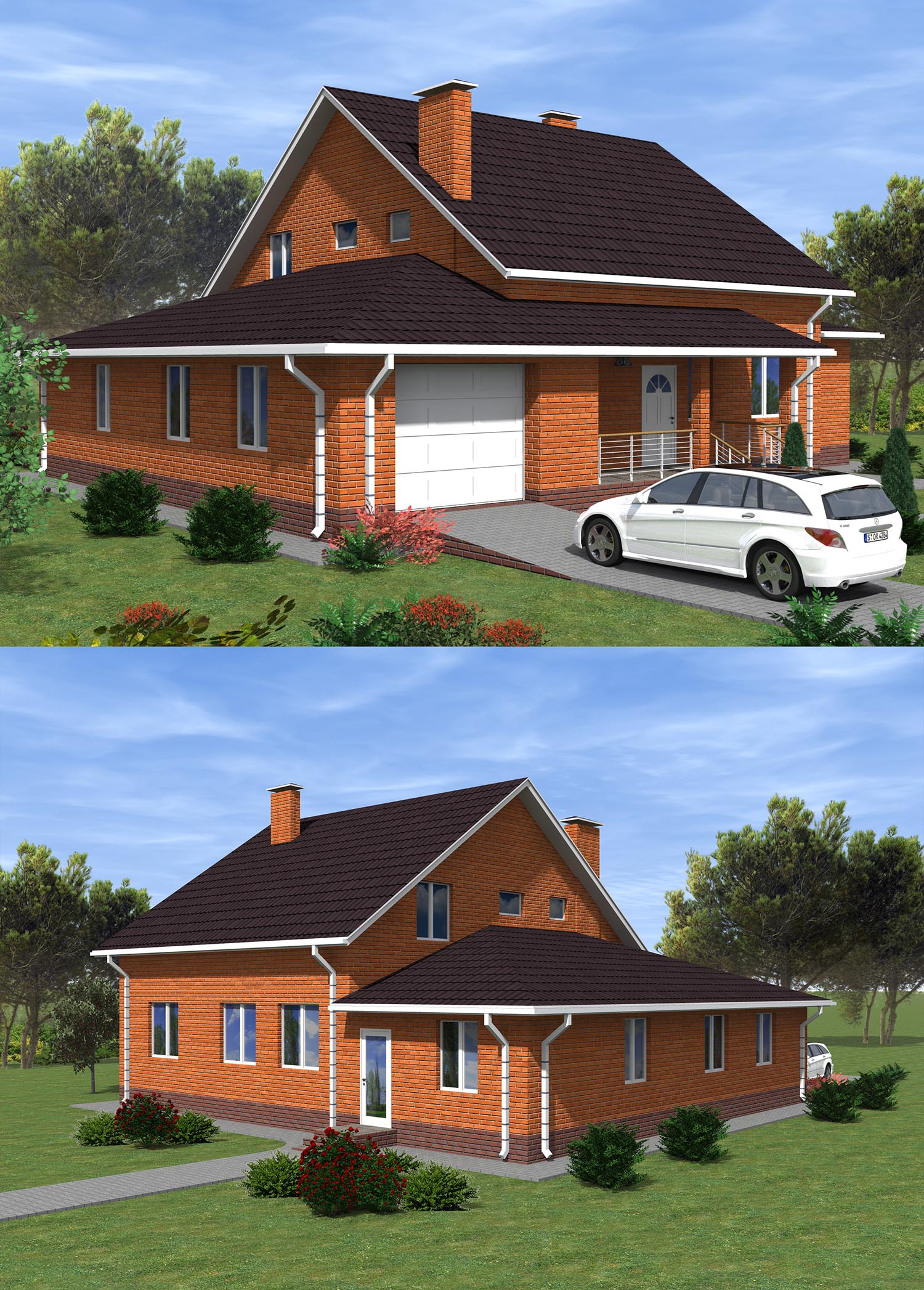 Проект-дома-с-гаражом-до-200-кв.м.