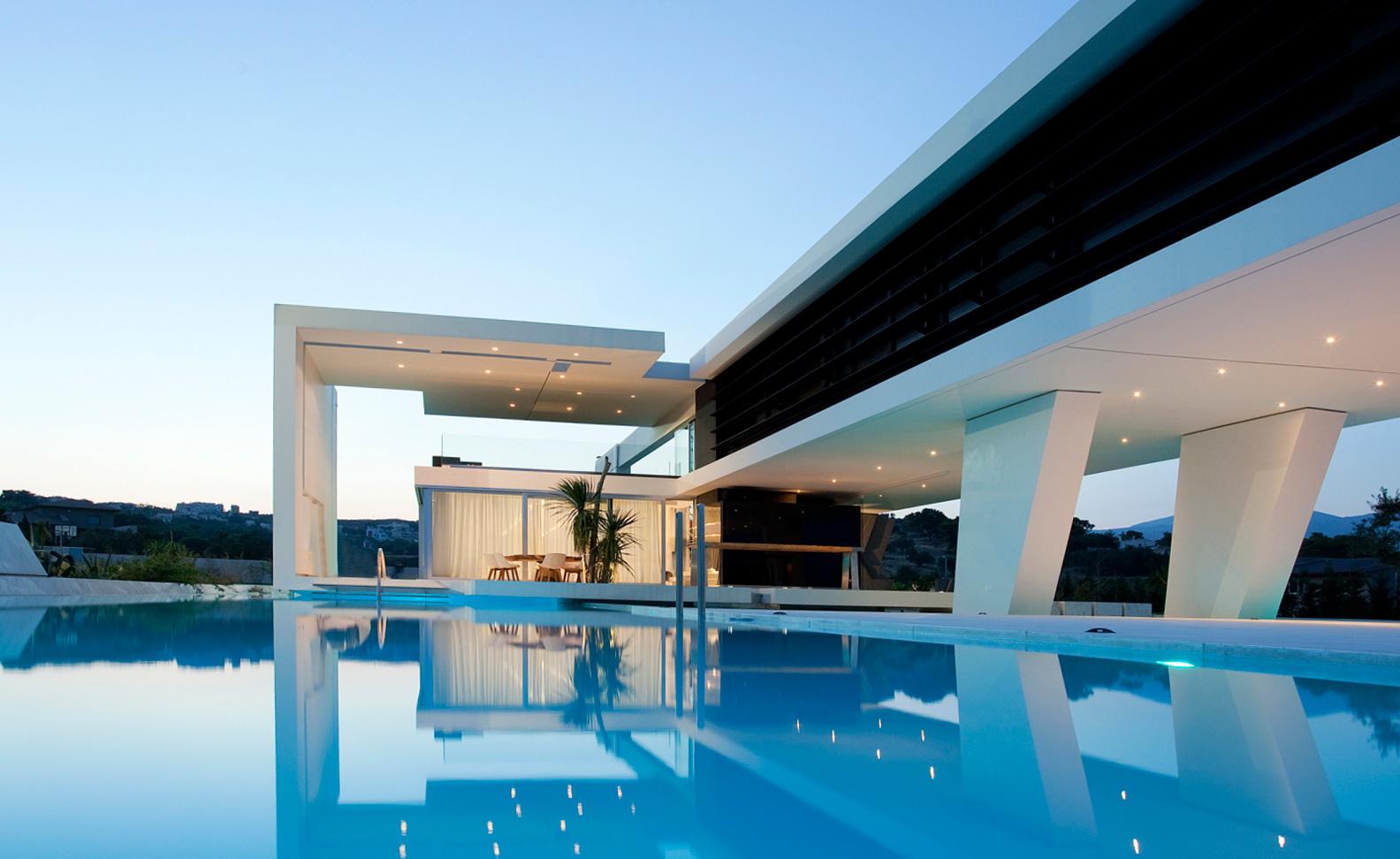 Очень красивый частный дом
