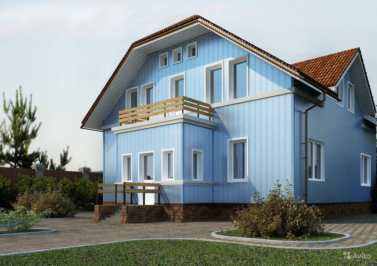 oblitsovka-fasadov-zdaniy-sayding-vertikalnyy