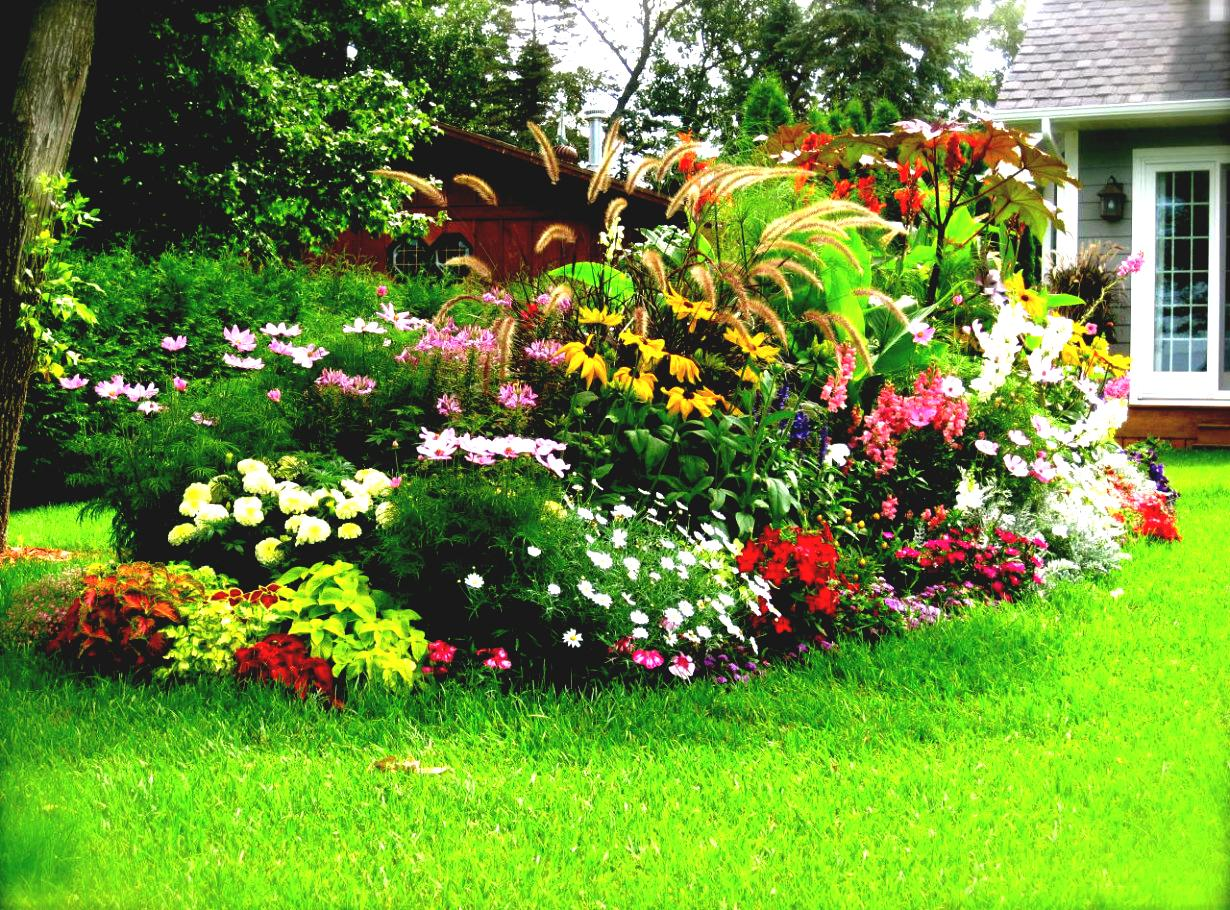 garden-extraordinary-image-of-beautiful-house-landscaping