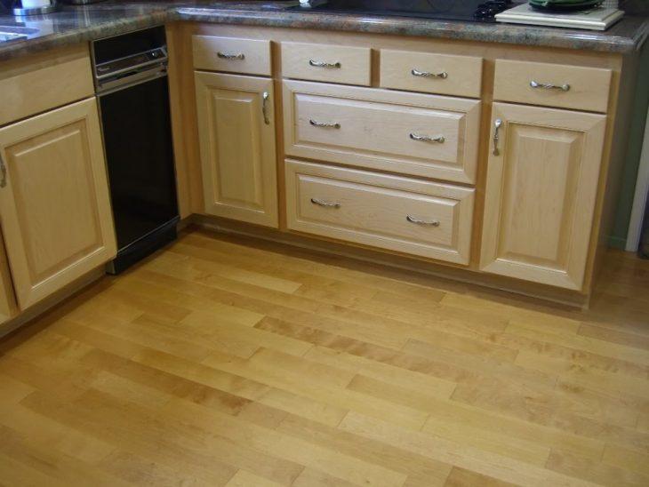 красивый пол в кухню