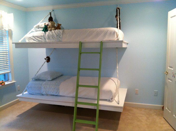 подвесные кровати в интерьере
