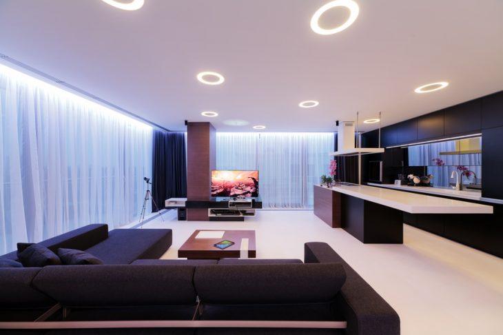 встраиваемые светильники для ванной
